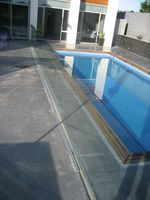 Channel Fixed Pool Fence